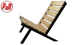 Простое кресло для дачи. Homemade chair.