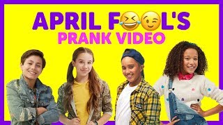 April Fools Pranks with The KIDZ BOP Kids