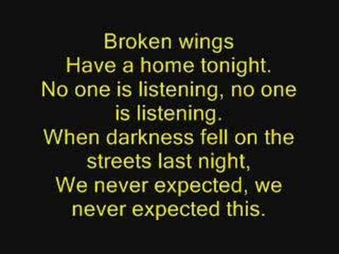 Bleed the Dream-Broken Wings