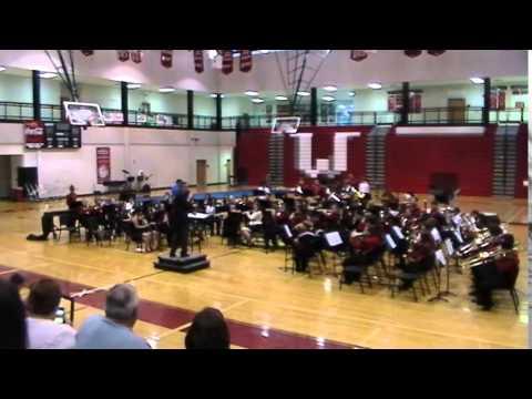 Winder Barrow High School Band Concert Part1