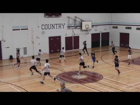 VSSAA Playoff Basketball - Churchill vs David Thompson 2017-02-27