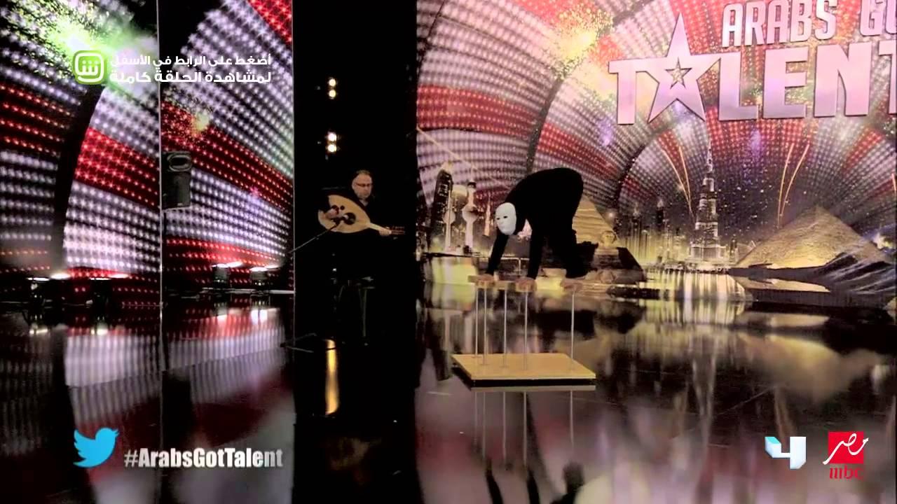Arabs Got Talent - نائل جمال - تجلرب الأداء