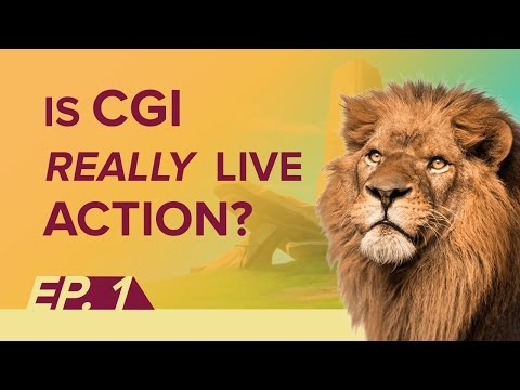 Ep 1 - Are live-action CGI reboots really live-action?