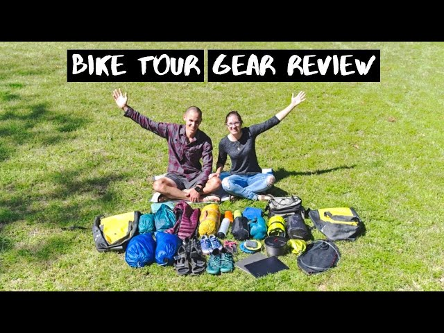 BIKE TOUR GEAR REVIEW: Everything We Brought for 8 Months of Riding from Thailand to Italy