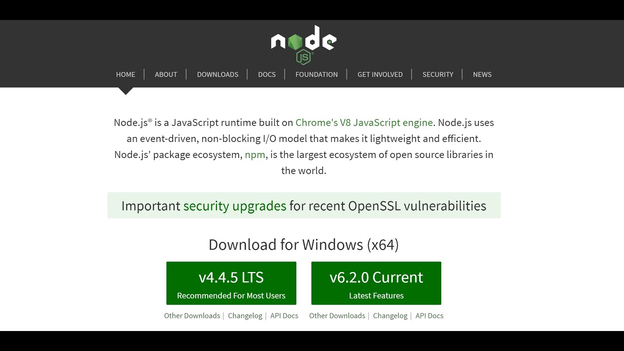 The Problem With Nodejs In 2016