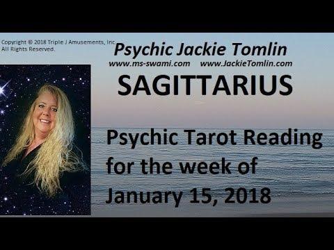 SAGITTARIUS Psychic Tarot Reading for the week of January 15, 2018