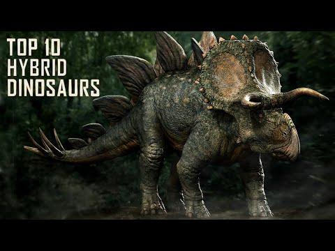HYBRID Dinosaurs Size Comparison Jurassic Park