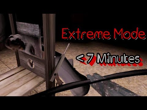 Granny Extreme Mode Less Than 7 Minutes