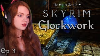 Ghaunaere Becomes a Heart Surgeon   Clockwork   TES V: Skyrim Horror Quest Mod   Ep 3