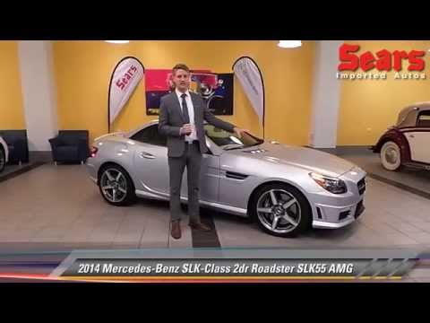 New 2014 mercedes benz slk class roadster slk55 amg for Mercedes benz bloomington mn