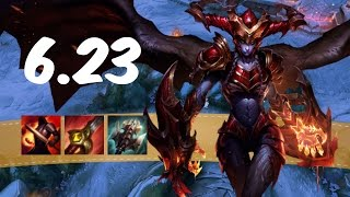 [RO] Shyvana Jungle Patch 6.23 - Strongest 1v1 Champion?! | Pre-Season 7 | Full Gameplay Commentary