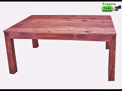 bricolage comment fabriquer une table en bois usage. Black Bedroom Furniture Sets. Home Design Ideas