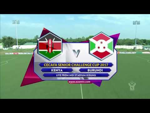 Azam TV - CECAFA2017: FULL HIGHLIGHTS; KENYA 1-0 BURUNDI (KISWAHILI)
