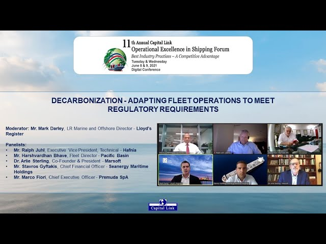 Decarbonization – Adapting Fleet Operations to Meet Regulatory Requirement