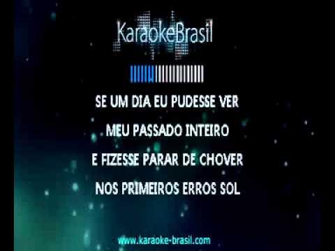 Capital Inicial   Primeiros Erros karaoke)