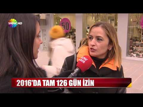 2016'da Tam 126 Gün Izin