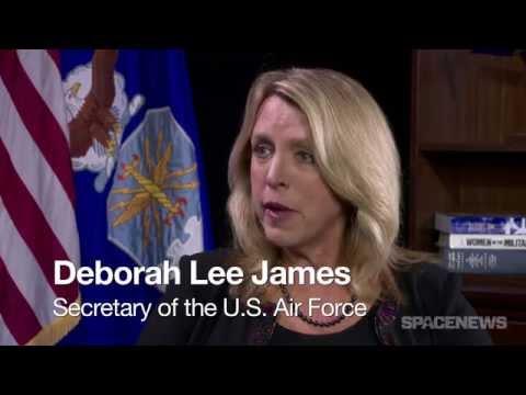 U.S. Air Force Secretary Deborah Lee James in Conversation with SpaceNews