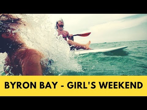 Byron Bay Vlog | Girl's weekend | Australia