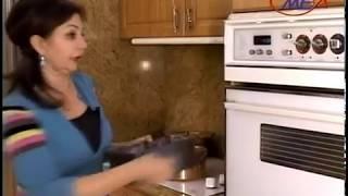 Samira's Kitchen # 12 Okra Stew مرقة باميا, Rice رز, Fig Walnut Cake كيك التين والجوز