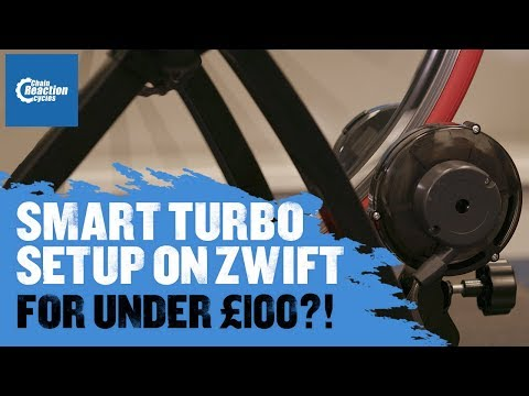 The best budget turbo trainer setup for Zwift - Chain Reaction Cycles