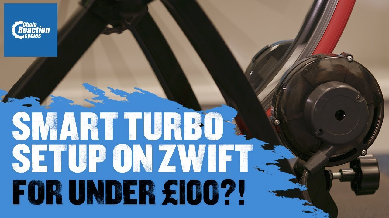 The best budget turbo trainer setup for Zwift - Chain