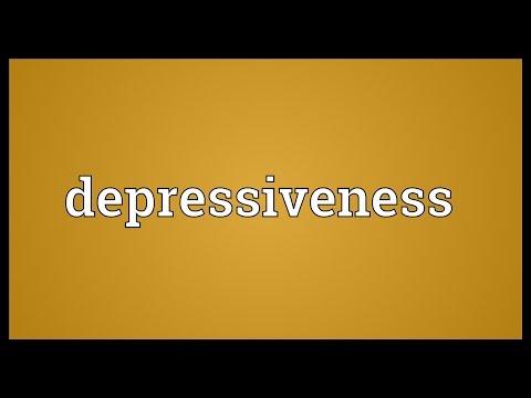 Header of depressiveness