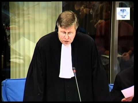 Initial Appearance - Milošević, Slobodan (Part 1/2) (Session 1) - 29 October 2001