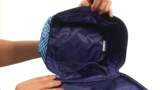 Vera Bradley Luggage Lighten Up Brush Up Cosmetic Case SKU 8887680 ... 9b34210a55065