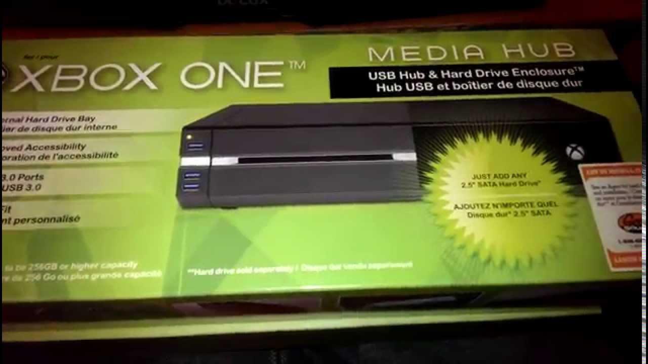 Foyer Storage Xbox One : Xbox one storage and media hub youtube