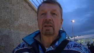 Сергей Гимаев - о первой тренировке сборной России в Сочи