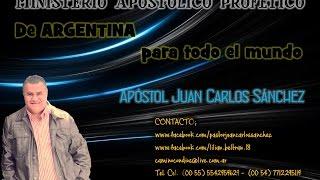 MEXICO / APOSTOL JUAN CARLOS SANCHEZ PREDICA Y MINISTRACION PRT 1.