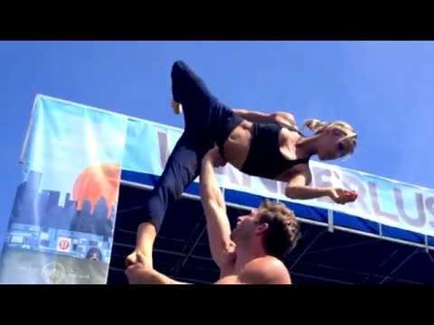 ACRO YOGA - Wanderlust Festival - Santa Monica