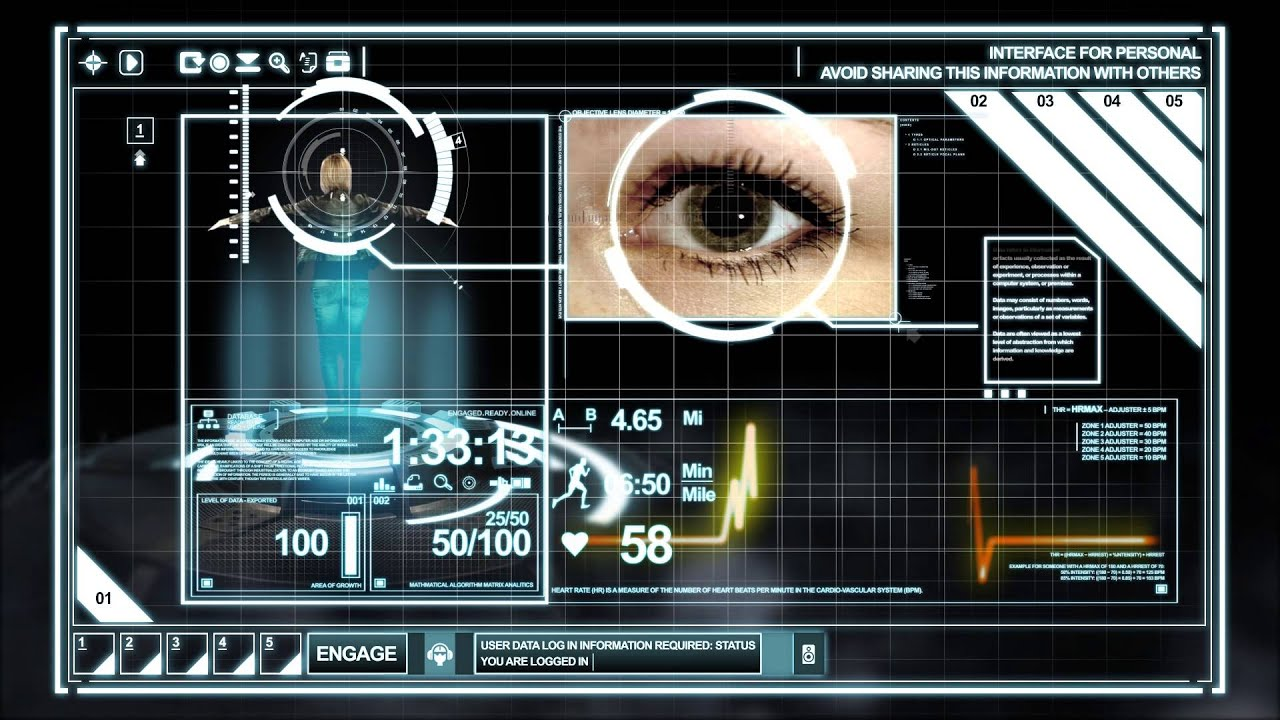 Hud interface hologram after effects download free te for Aep templates free download