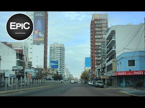 Valentín Alsina y Lanús desde el auto - Buenos Aires, Argentina (HD)