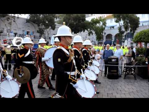 #Royal #Marines 350 Years Association with #Gibraltar