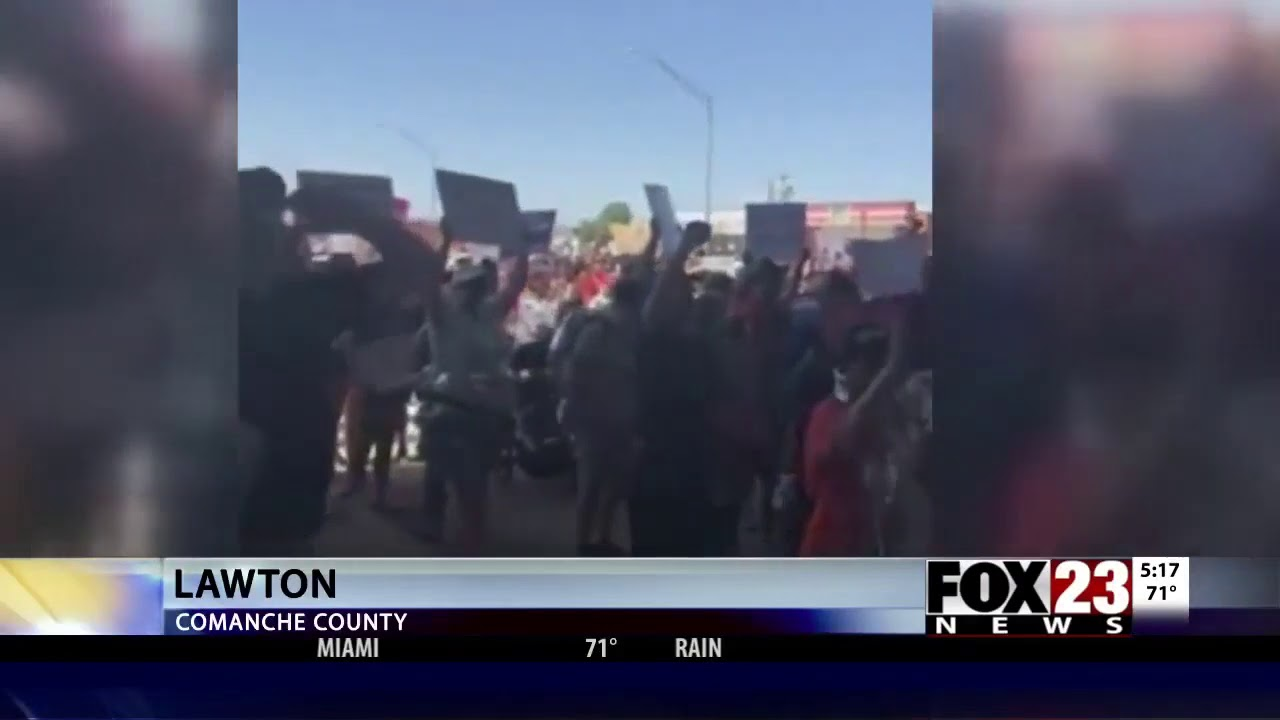 CAIR Oklahoma Joins Protest Against Migrant Child Detention at Fort Sill