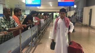 """المضيوم من الغنم الى دبي """" جاب العيد في المطار """" شوفو وش صار !!"""