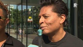 Topmodel Lara Stone bezoekt Rotterdam. 'Ze is niet voor niks een topmodel'
