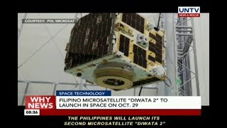 """Filipino microsatellite """"Diwata 2"""" to launch in space on October 29"""