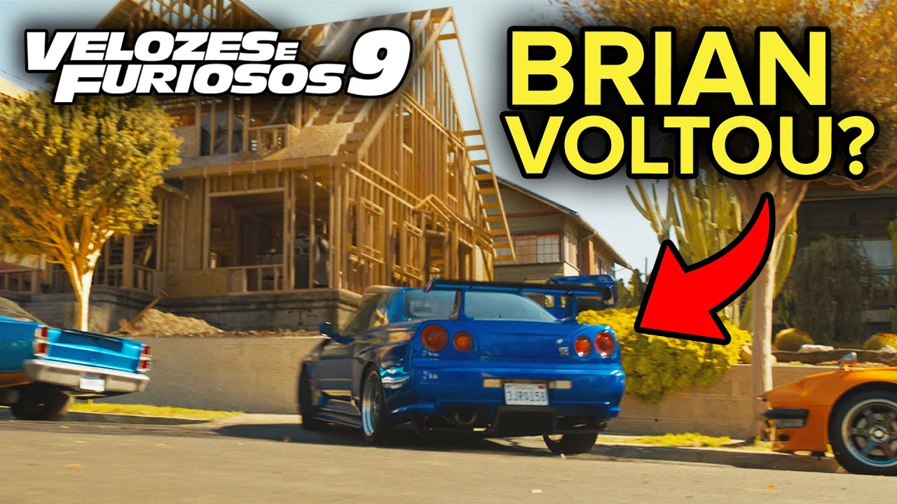 ELE VOLTOU? SKYLINE DO BRIAN NO NOVO TRAILER DO VELOZES E FURIOSOS 9