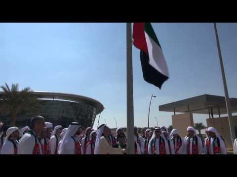 UAE Flag Raising Celebration at Zayed University - Abu Dhabi Campus