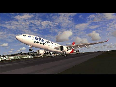 FSX | IVAO | Qantas special tour Part 4 | Singapore - Kathmandu | Airbus A330-200 [GER | ENG]