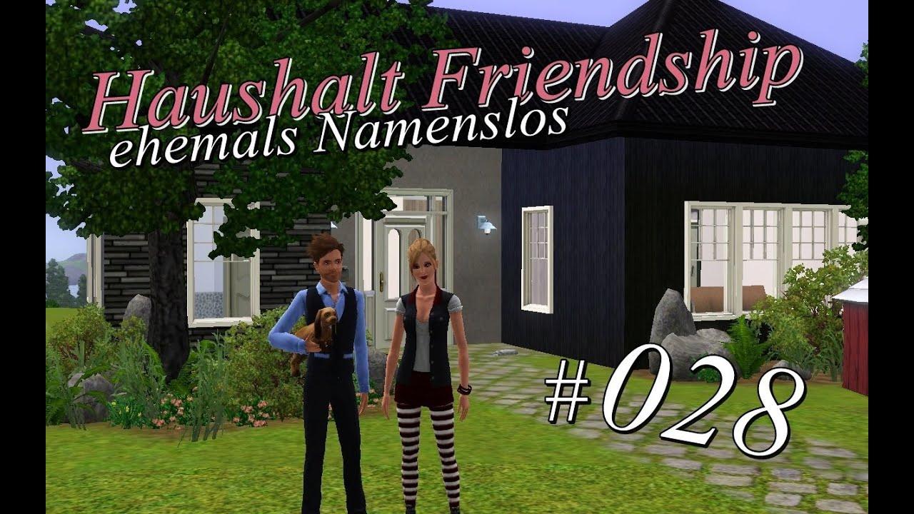 sims 3 haushalt friendship 028 die neue flicka. Black Bedroom Furniture Sets. Home Design Ideas