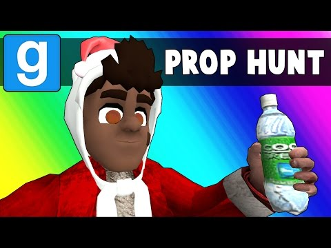 Thumbnail: Gmod Prop Hunt Funny Moments - Christmas Edition 2016! (Garry's Mod)
