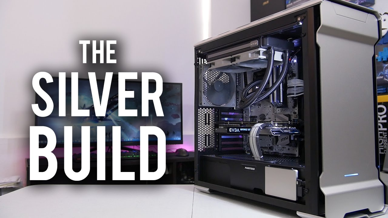 THE SILVER BUILD! PC of the Month - October - YouTube