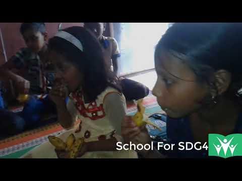 School For SDG4: Weekly fruits program for underprivileged kids (20 February, 2018)