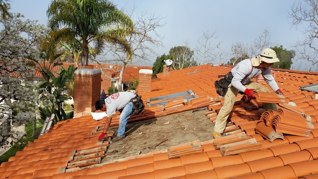 tile roof restoration in Melbourne