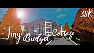 Roblox Bloxburg | Tiny budget cottage tour! | 38k