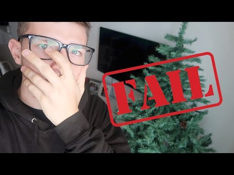TODAY IS THE MOST EXCITING DAY + OUR CHRISTMAS TREE FAIL! VLOGMAS!