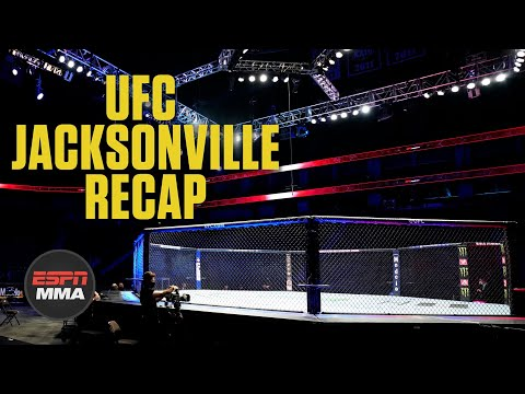 Recapping The UFC's Three Events In Jacksonville   ESPN MMA